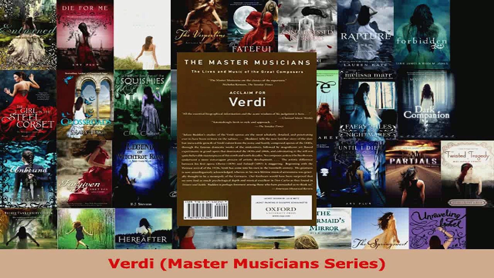 Read  Verdi Master Musicians Series EBooks Online