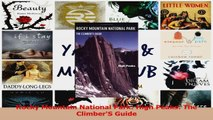 Read  Rocky Mountain National Park High Peaks The ClimberS Guide Ebook Free