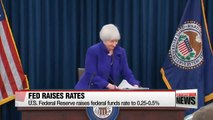 BD U.S. Federal Reserve raises interest rates for first time since 2006