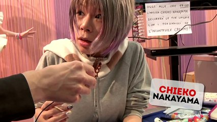 Lincantevole Creamy Nail Art: Chieko Nakayama al Romics 2013