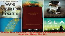 Read  Charles Ives Omnibus Monographs  Bibliographies in American Music No 18 Ebook Free