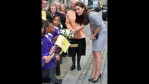 Kate Middelton, Duchess of Cambridge struggles at the Place2Be Headteacher Conference