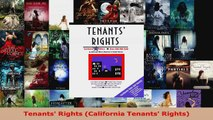 Read  Tenants Rights California Tenants Rights Ebook Free