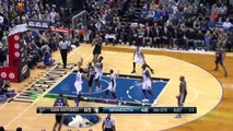 Spurs' Great Ball Movement  Spurs vs Timberwolves