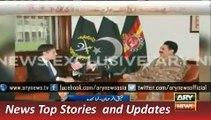 ARY News Headlines 10 December 2015, US High Official Meet to Army Chief Raheel Sharif