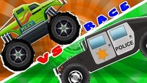 Monster Truck VS Hummer | Stunts And Action