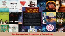 PDF Download] Rediscovering Expository Preaching [Download