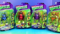 Nickelodeon Teenage Mutant Ninja Turtles TMNT Throw N Battle Mikey Donnie Leo Raph Battle