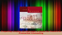 Download  Preparing Couples for Marriage A Guide for Pastors to Premarital Counseling Ebook Online