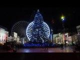 Clermont-Ferrand : illuminations de Noël 2015