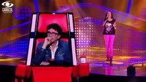 Tatiana cantó 'Tú lo decidiste' de Ana Gabriel– LVK Colombia – Audiciones a ciegas – T1
