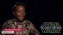 Lupita Nyongo Shares Advice Andy Serkis Gave Her On Star Wars The Force Awakens