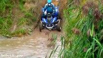 Fail Crash Yamaha Raptor ATV quad compilation 2015 #2