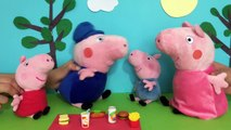 peppa pig george Peppa Pig Toy episode - Peppa at the Duck Pond- English Peppa Pig Toys Episodes