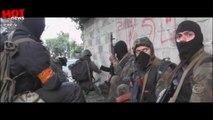 Батальон Азов Видео боя перестрельки под Мариуполем 12.02.2015 Бій під Саханкою