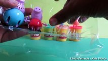 Peppa Pig Toys Peppa Pig New - Play Doh Pappe Pig - Peppa Pig Family Unboxing Surprise Toys