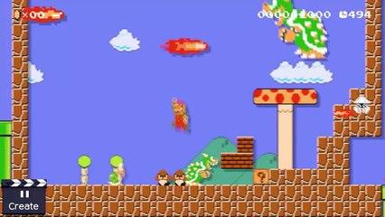 Super Mario Maker : Super Mario Maker - Let s Play with Mr Tezuka & Mr Miyamoto (Wii U)