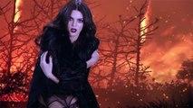 Kendall Jenner pose en lingerie pour le calendrier de l'Avent 2015 de LOVE