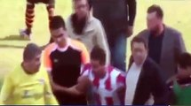 Turkish footballer loses it and kicks his opponent in the head