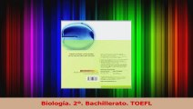 PDF Download  Biología 2º Bachillerato TOEFL Download Full Ebook