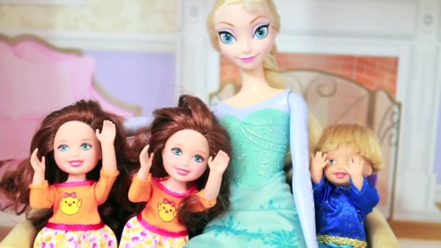 Disney Frozen Parody Barbie Basketball Playset Princess Anna Kristoff Elsa Doll Toys AllToyCollector