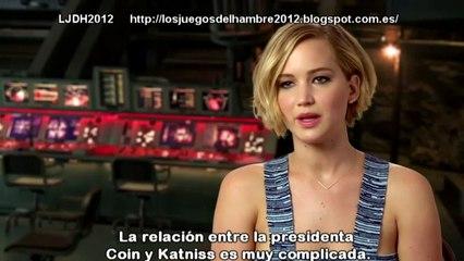 The Hunger Games Mockingjay - Part 1 - Jennifer Lawrence Interview (2014) Subtitulado Español