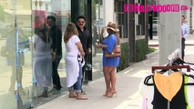Reza Farahan From Shahs Of Sunset Hangs Out With Friends On Melrose 7.21.15 TheHollywoodFi