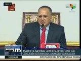 Venezuela: aprueba AN nuevos magistrados del TSJ y la Ley de Semillas