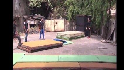 Tiger Shroff's live stunts