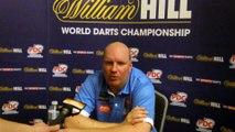 Interview met Vincent van der Voort na eerste ronde op WK Darts