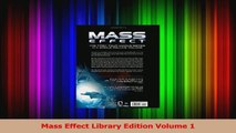 PDF Download  Mass Effect Library Edition Volume 1 PDF Online