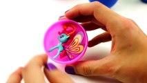 peppa pig Play Doh Ice Cream Surprise eggs Toys Peppa Pig My Little pony Hello K
