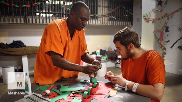 Finding a way to keep hope and spirit alive in jail on Christmas
