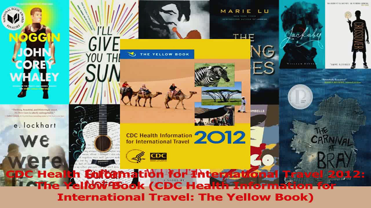 Read  CDC Health Information for International Travel 2012 The Yellow Book CDC Health PDF Free