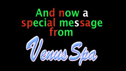 Merry Christmas from Venus Spa!