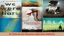 Read  El Club de los Muertos Spanish Edition PDF Online