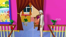 Goosey Goosey Gander 3D Animation English Nursery rhymes for children with lyrics