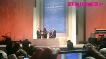 Barack Obama Jokes About Michelle Obamas Hair In Washington DC 1.20.13