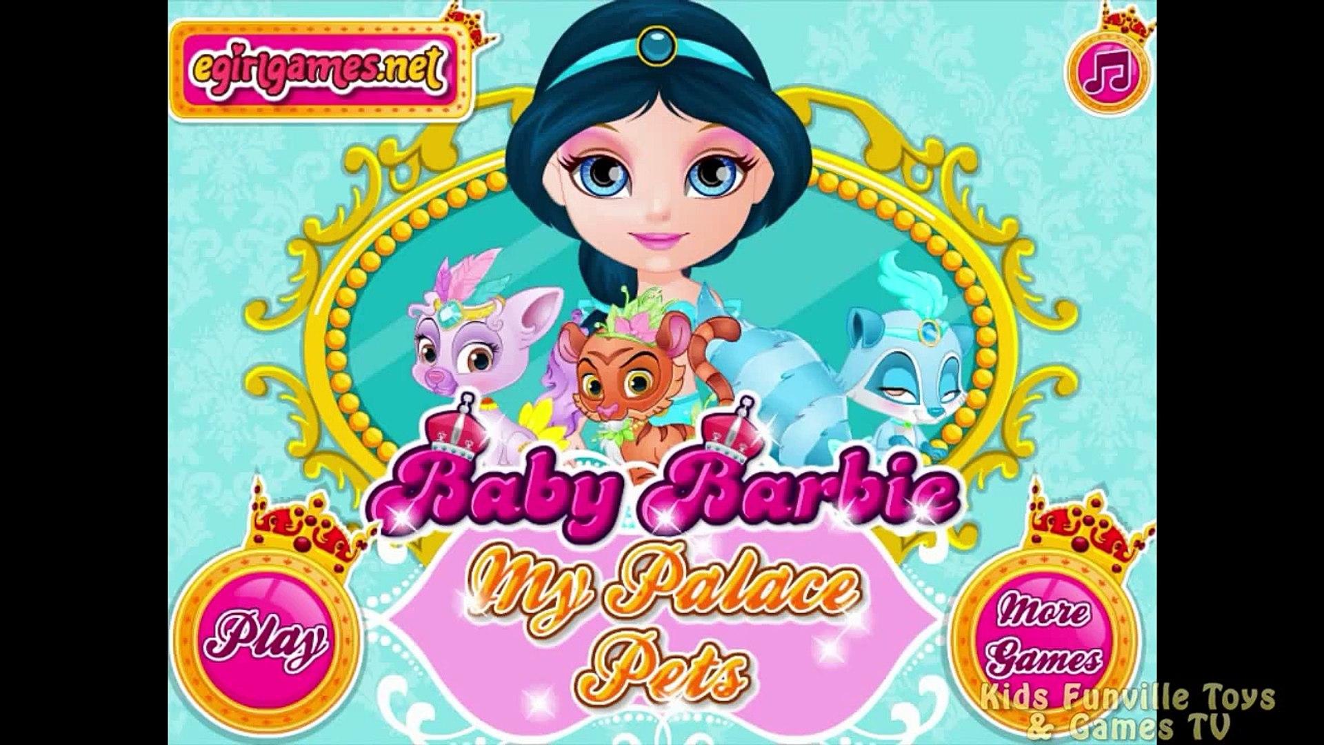 Baby Barbie Palace Pets Dora - Baby Barbie Video Games - Dora the Explorer
