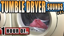 TUMBLE DRYER NOISE for Sleeping and relaxation. Sleep Sounds and White Noise for 1 hour