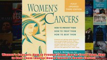 Womens Cancers How to Prevent Them How to Treat Them How to Beat Them Hunter House