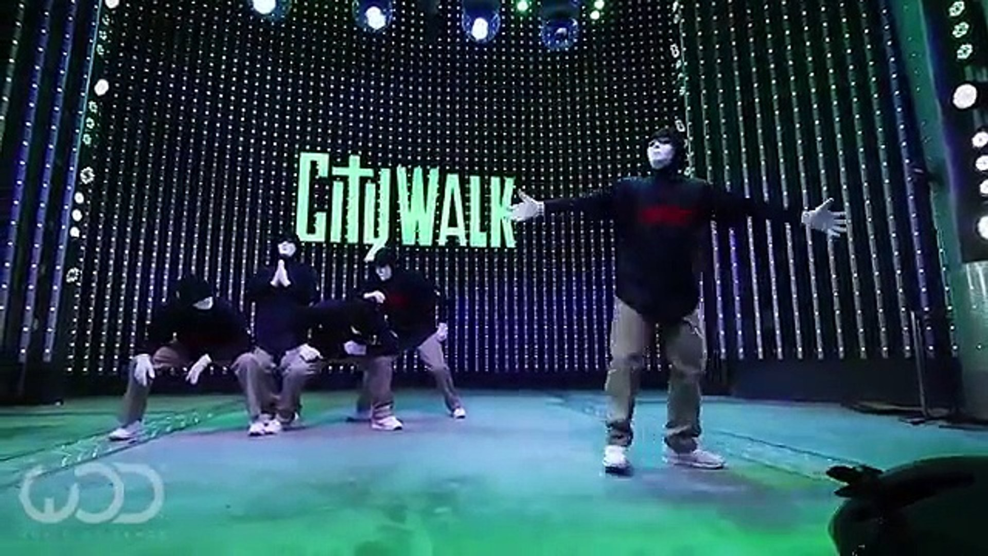 Jabbawockeez World of Dance Live FRONTROW Citywalk 2014 Great World of Dance Live