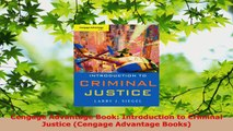 PDF Download  Cengage Advantage Book Introduction to Criminal Justice Cengage Advantage Books Download Full Ebook