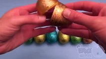 Surprise Eggs Frozen Play Doh Kinder Surprise Egg Learn A Word! Spelling Vegetables! Lesson 11