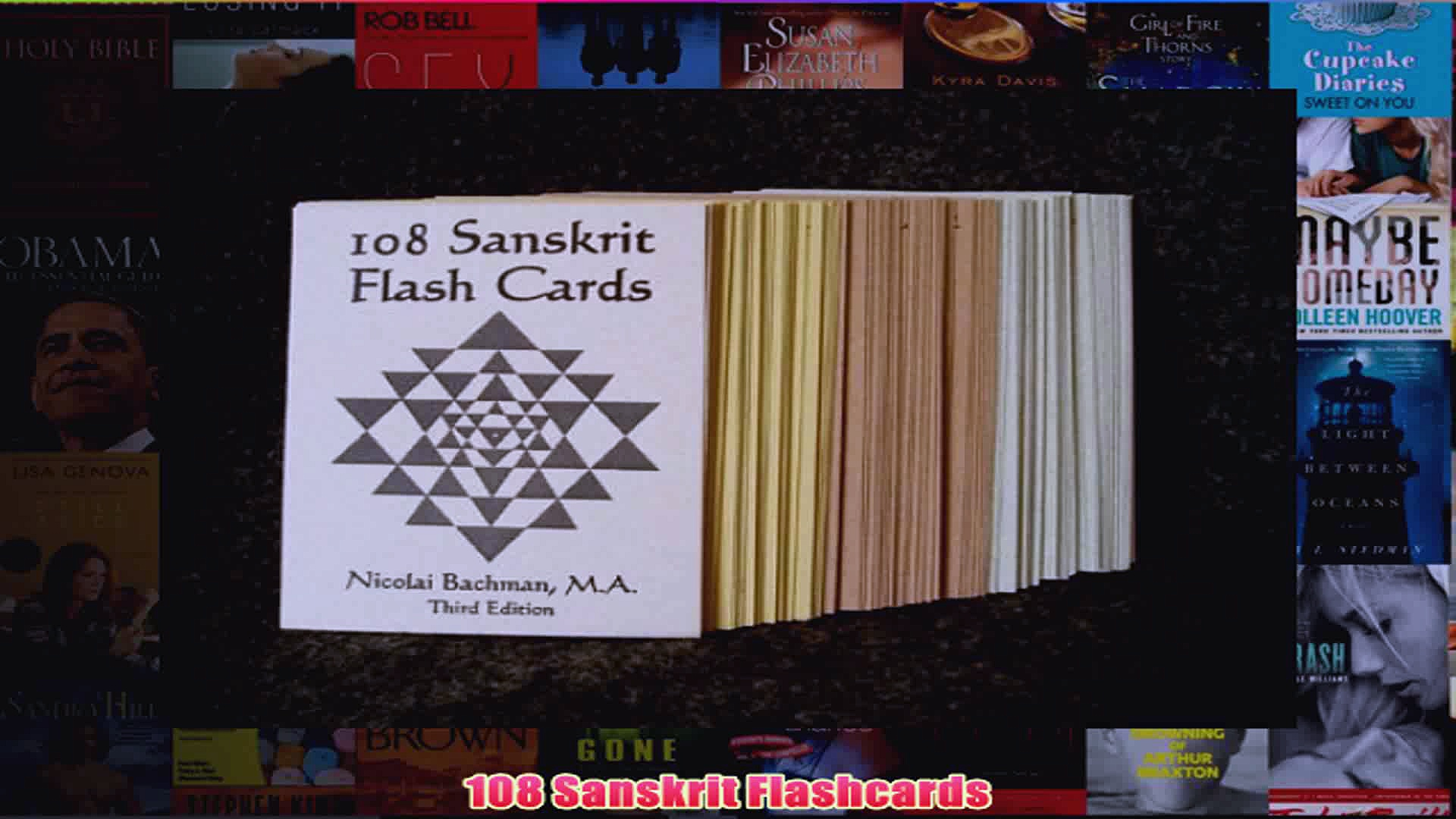 108 Sanskrit Flashcards