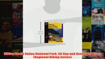 Hiking Death Valley National Park 36 Day and Overnight Hikes Regional Hiking Series