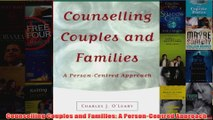Counselling Couples and Families A PersonCentred Approach