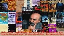 Download  Geht nicht  geht doch Ein Perser auf den Spuren der Marke Deutschland Lebensberichte  Ebook Online