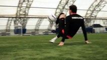 Amazing Trick Shot Billy Wingrove and Jeremy Lynch F2 Freestyle