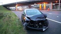 Ravage na ongeval A28 Staphorst Meppel